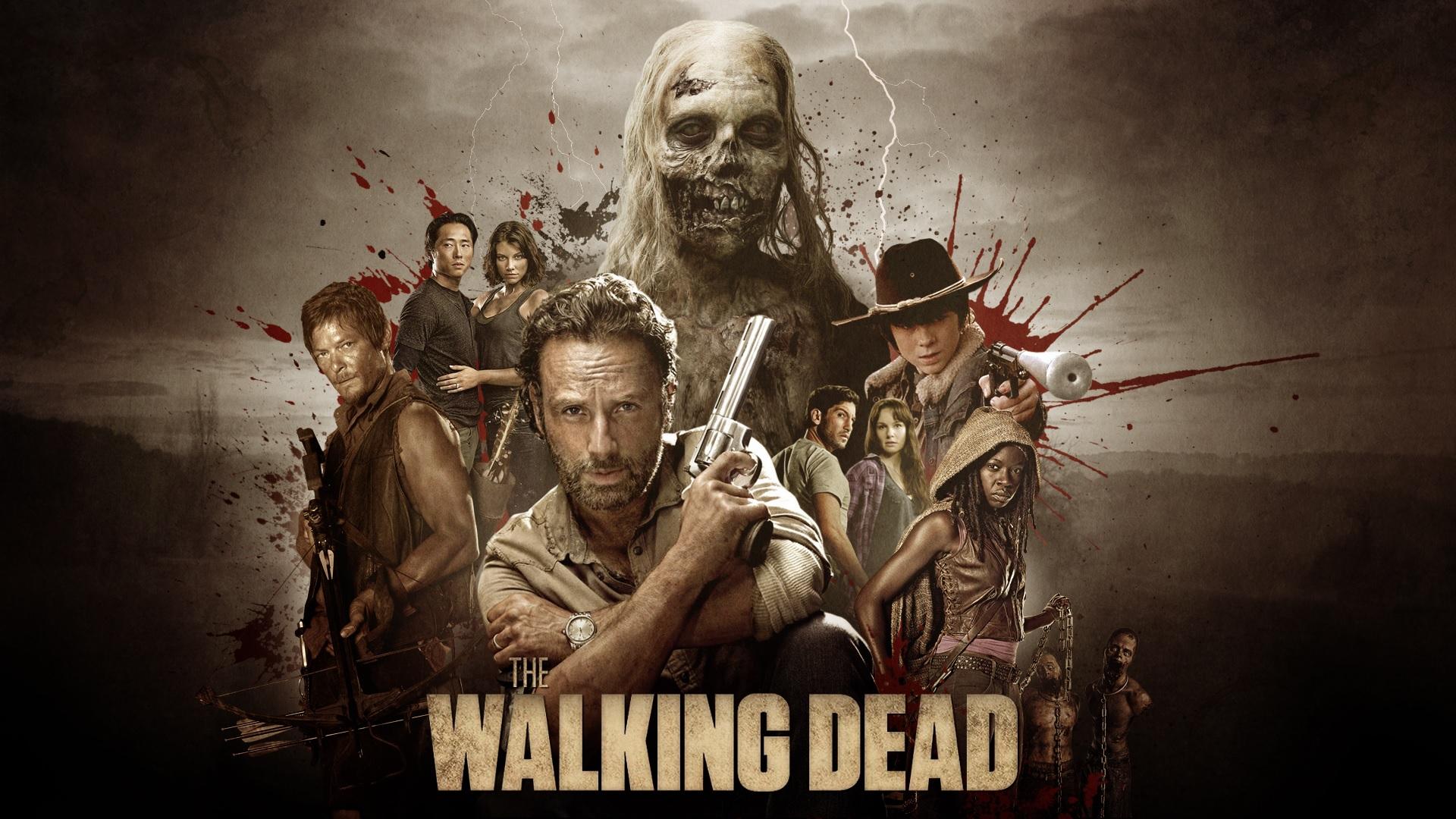 The Walking Dead - Mejor Serie de TV de Zombis