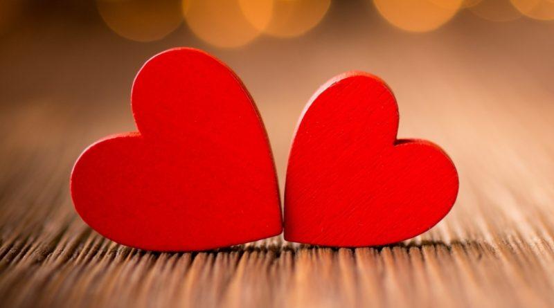 Frases de amor. Corazones
