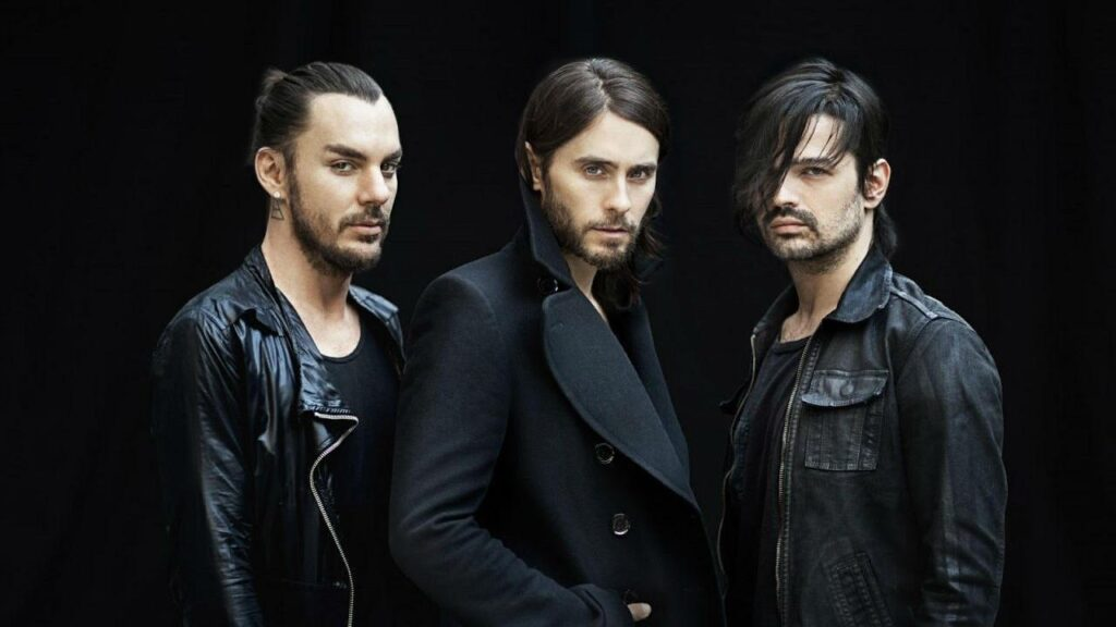 Shannon Leto, Jared Leto y Tomo Milicevic - 30 Seconds to Mars